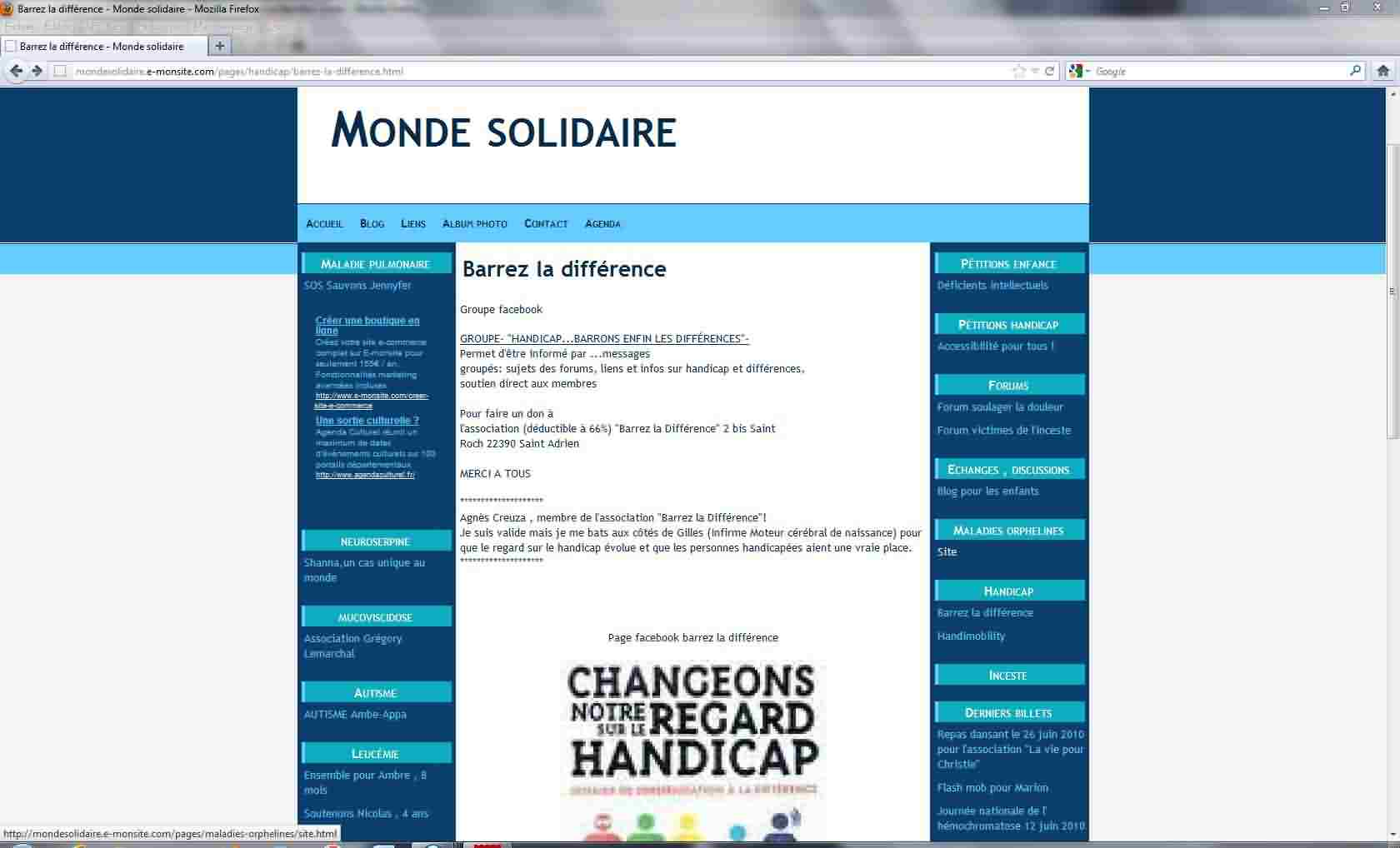 Capture blog monde solidaire
