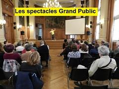 spectacles grand public sensibilisation handicap